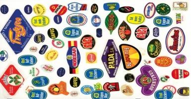 Eugen Oker - Fruit Stickers