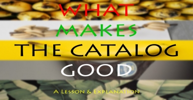What Makes The Catalog Good
